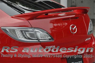 Achterklep spoiler Mazda 6 HB 2008-2012