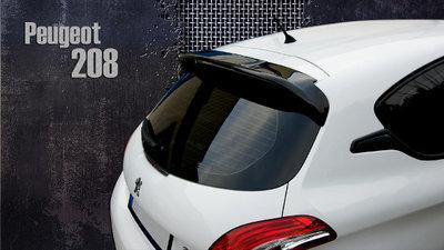 Achterklep spoiler dak spoiler Peugeot 208