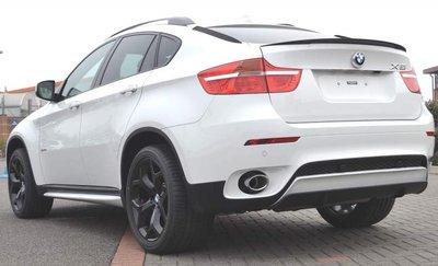 Performance achterklep spoiler BMW X6 E71 2008-2014