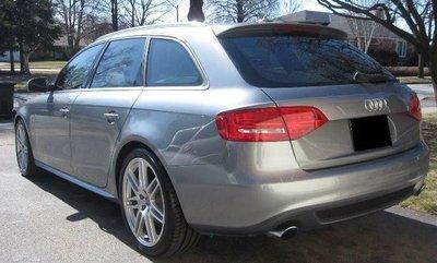 Achterklep spoiler Audi A4 B8 AVANT S4 S-line