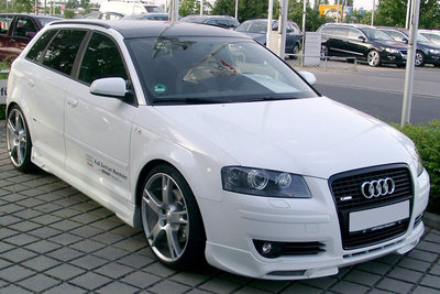 Side skirts Audi A3 8P Sportback ABT