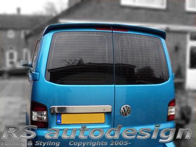 Deurtjes spoiler VW Transporter T5 en T5 GP
