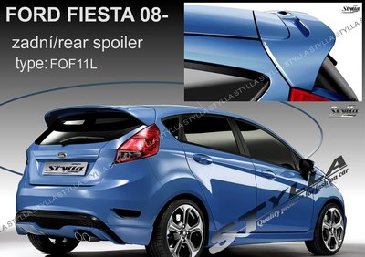 Achterklep spoiler dak spoiler Fiesta 2008-2016 (stylla)